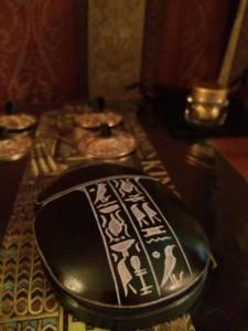 エジプシャンセラピーの3つのアイテム