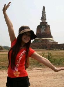 タイ・アユタヤの遺跡の数々・・