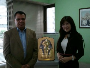 Embassy of Egypt Tourism office-Dr Samy Mahmoud.