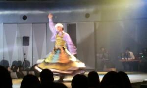 Sofia-san主宰のエジプシャンナイト♪男性がクルクル回って素晴らしい!