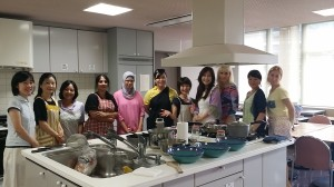 Egyptian cooking class -we've spent wonderful time.