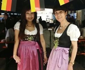 可愛いドイツの民族衣装もレンタルできるのです